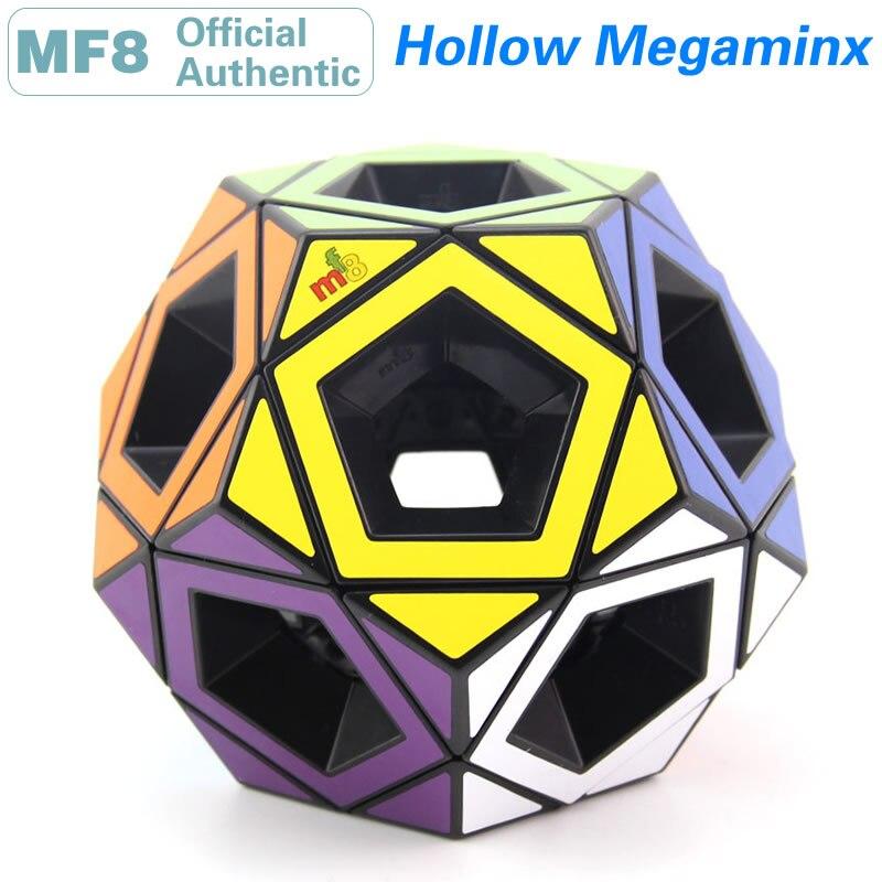 Megaminxeds V2-Magic Cube MF8 ، مجوف ، 2x2 ، 3x3 ، Dodecahedron ، ثقب فراغ ، أحجية احترافية ، إصدار محدود ، قابل للتحصيل