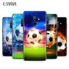 Fire Football Soccer ball For Samsung Galaxy A9 A8S A8 A7 A6S A6 A5 A3 A750 Plus 2018 2017 2016 Star Phone Case