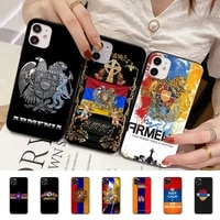 hot armenia armenians flag phone case for iphone 11 8 7 6 6s plus x xs max 5 5s se 2020 xr 11 pro diy funda capa