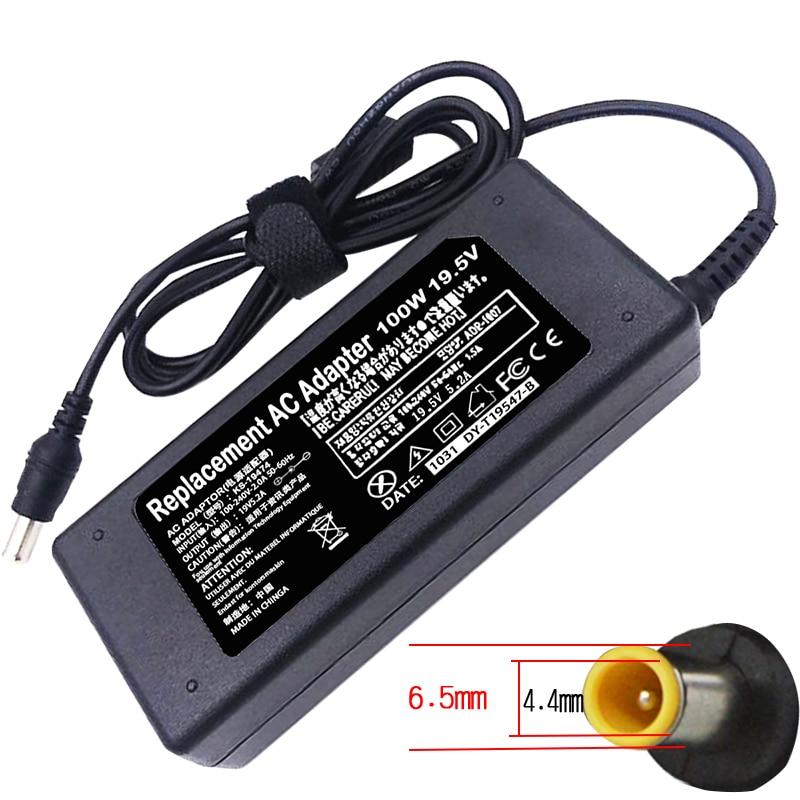 Adaptador para Sony Fonte de Alimentação Novo Lcd tv Adcp-100e03 Acdp-100d01 19.5v 5.2a 100w 6.5*4.4mm