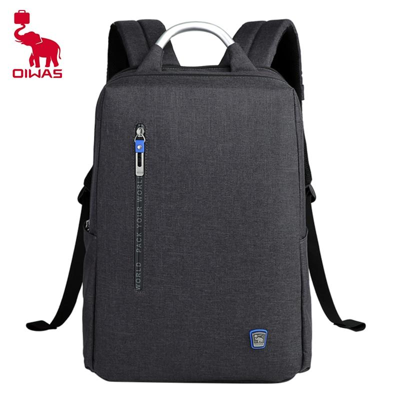 oiwas men OIWAS Men Business Backpack Waterproof Travel Laptop Backpack Fashion Student School Backpacks Digital Bag New Woman Mochila