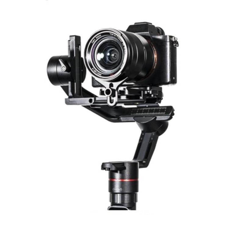 FeiyuTech Feiyu AK2000 3-Axis يده كاميرا استقرار Gimbal لسوني كانون 5D 6D مارك باناسونيك GH5 نيكون D850 2.8 كجم Payloa