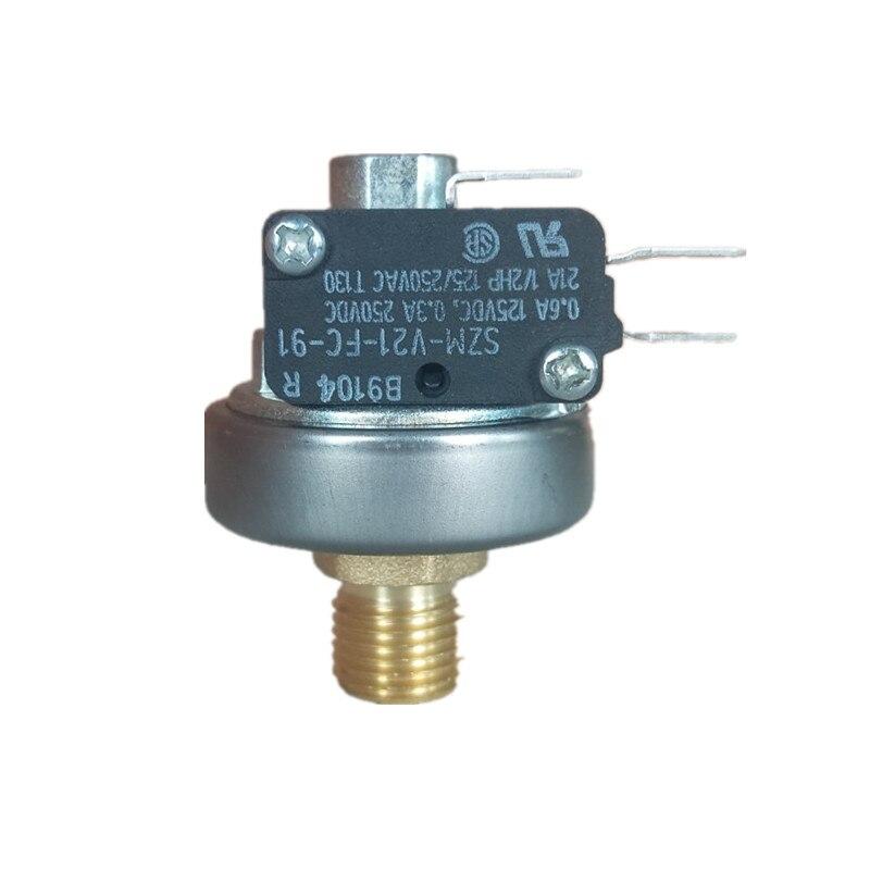 Interruptor de presión de vapor G1/4 de alta temperatura interruptor de control de presión de vapor para el Limpiador de vapor 1-8bar