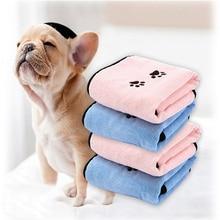 2 قطعة كلب القط منشفة ستوكات Bathrobe المناشف التجفيف السريع سوبر الحيوانات الأليفة ماصة المناشف الكلب تنظيف لوازم