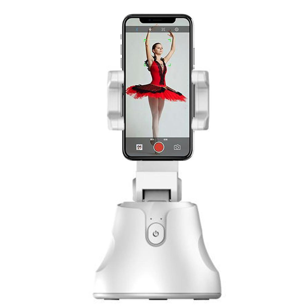 Todo-en-uno 360 rotación Auto disparo inteligente Selfie Stick Auto Seguimiento de la cara objeto seguimiento vlog Cámara teléfono titular Dropshipping