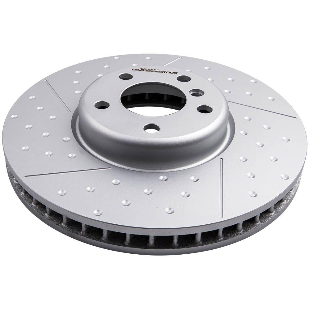 Driver lados esquerdos rotor de freio a disco dianteiro para bmw f10 f10 lci 650i 730li 740li