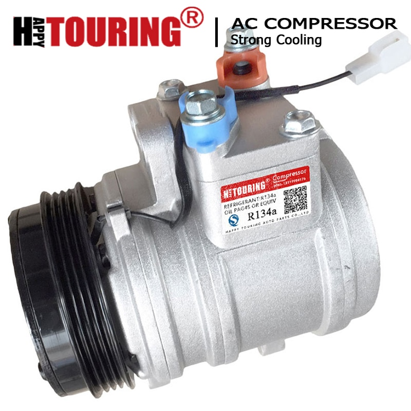 Compresseur ca SP10 A/C pour CHEVROLET MATIZ M200 M250 pour DAEWOO MATIZ KLYA 93741207 93741202 93741203 96568210 93741204 937412