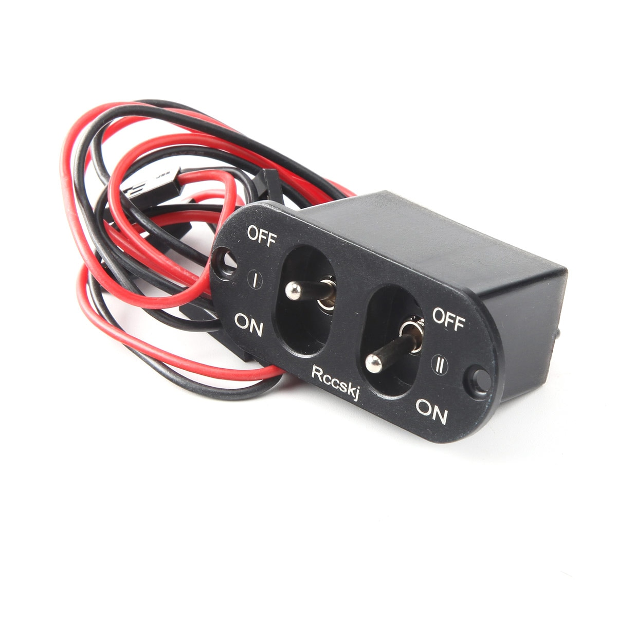 Rccskj RC Airplane Car Heavy Current Dual Charging Switch Fit FUTABA/ JR connector enlarge