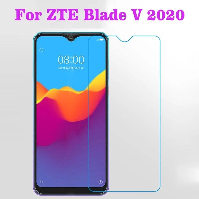 """Szkło hartowane dla ZTE Blade V2020 9H wysokiej jakości folia ochronna Screen Protector telefon szklane etui na ostrze V 2020 6.53"""""""