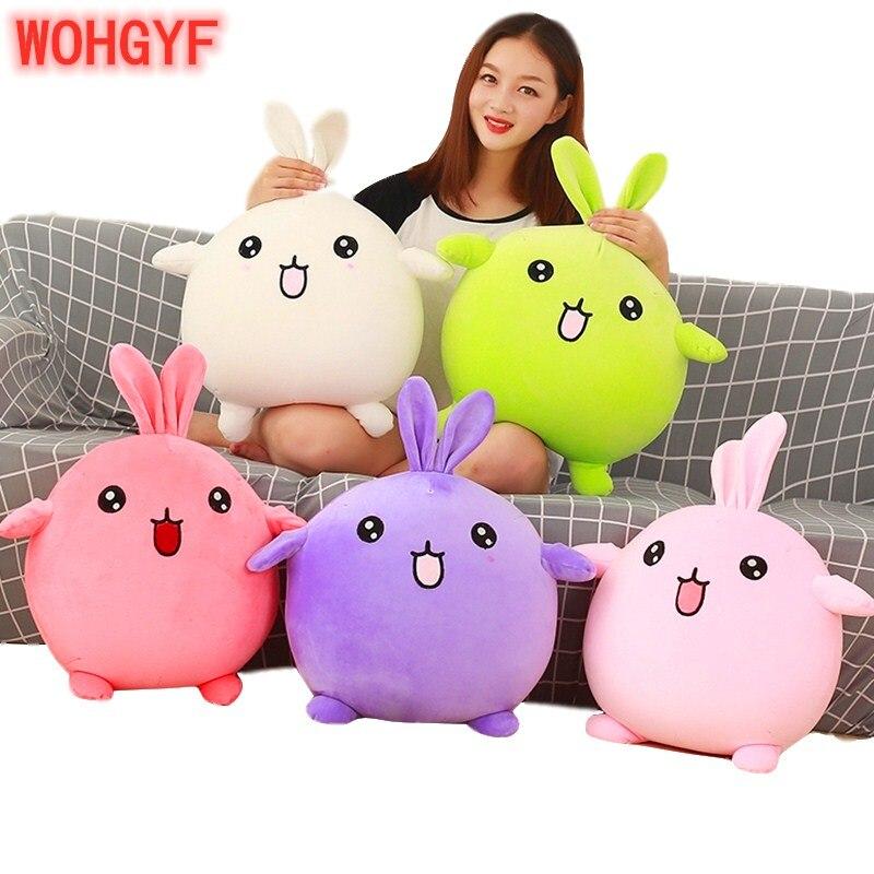1pc 50cm Super Cute Plush Foam Particles Rabbit Toys Stuffed Rabbit Plush Pillow Cushions Birthday Gifts Decorations