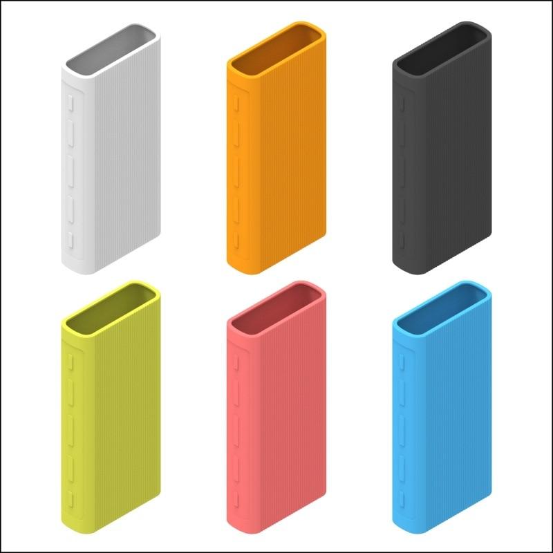 Powerbank Case Silicone Protector Case Cover for Xiaomi Power Bank 3 20000 MAh Dual USB Port Skin Sh