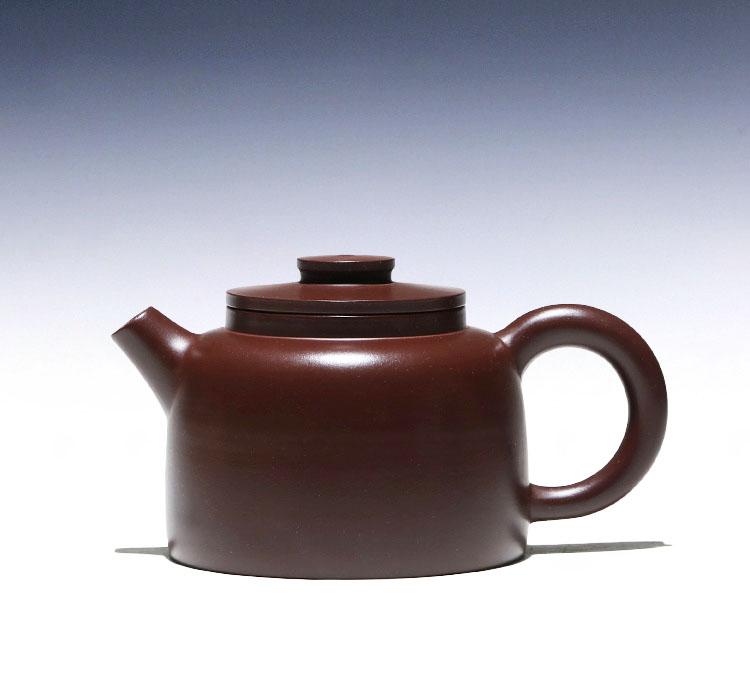 Zhu o Bule Pure Puro Manual Rong-hua wu zi Yixing Recomendado Lama Navio 210 cc Bola Buraco Não Tão Bem Joy Pot