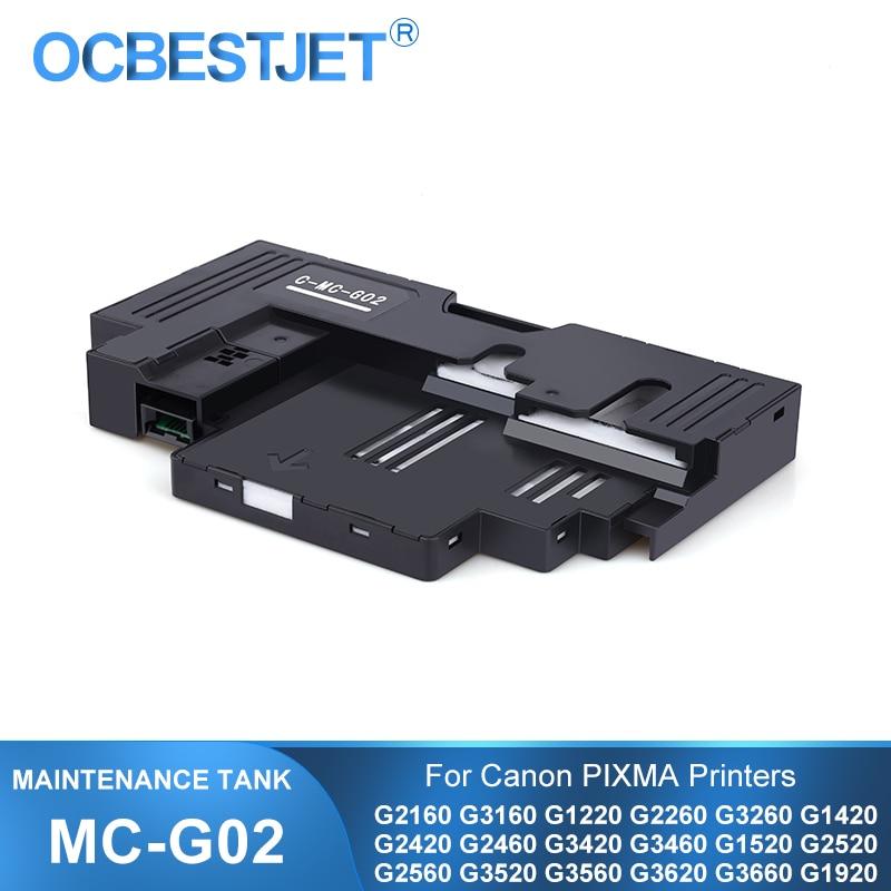 MC-G02 MC G02 MCG02 صيانة خرطوشة لكانون G2160 G3160 G1220 G2260 G3260 G3360 G1420 G2420 G2460 G3420 G3460 G3620 خزان