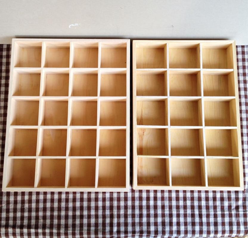 صندوق تخزين مكتب خشبي قديم مهدب ، منظم منزلي ، علبة وزجاجة ، عرض خاص