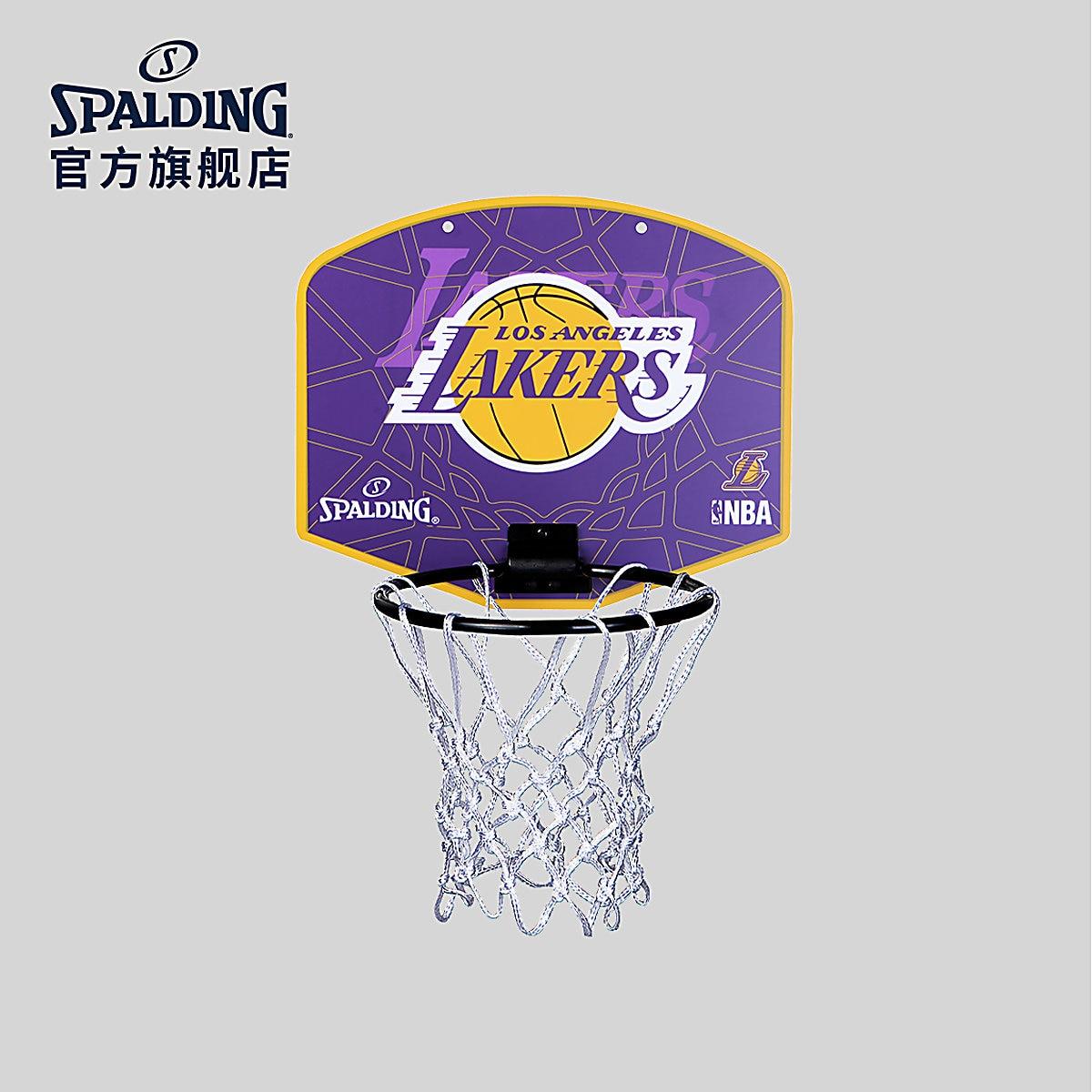SPALDING Children's Sports Hanging Basketball Board Mini Backboard Children's Indoor Basketball Training