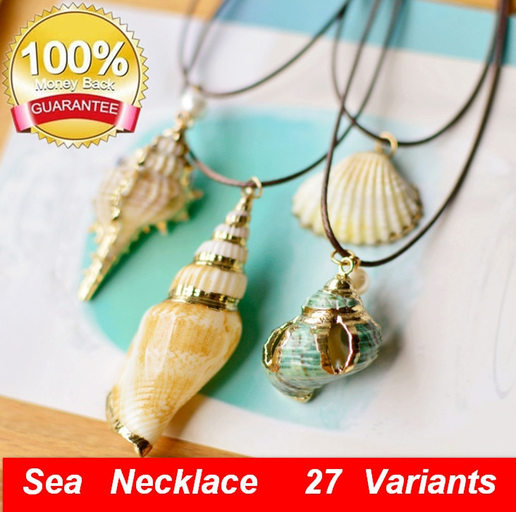 Ожерелье-чокер-cowrie-shell-для-женщин-ожерелье-чокер-из-ракушек-Гавайское-пляжное-ювелирное-изделие-кулон-ракушка-acc086