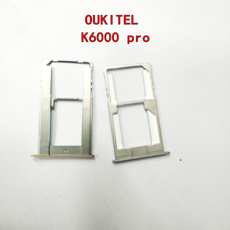 Фото - Original New Sim Card Holder Tray Card Slot For Oukitel k6000 PRO Cellphone new sim card holder tray card slot replacement for oukitel k6000 plus mtk6750t octa core 5 5 fhd 1920x1080
