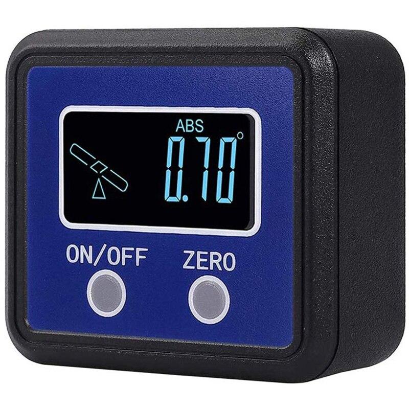 Угломер, цифровой транспортир/Инклинометр/угломер с магнитным основанием V-Groove-Precision Level Box для автомобиля, дерева