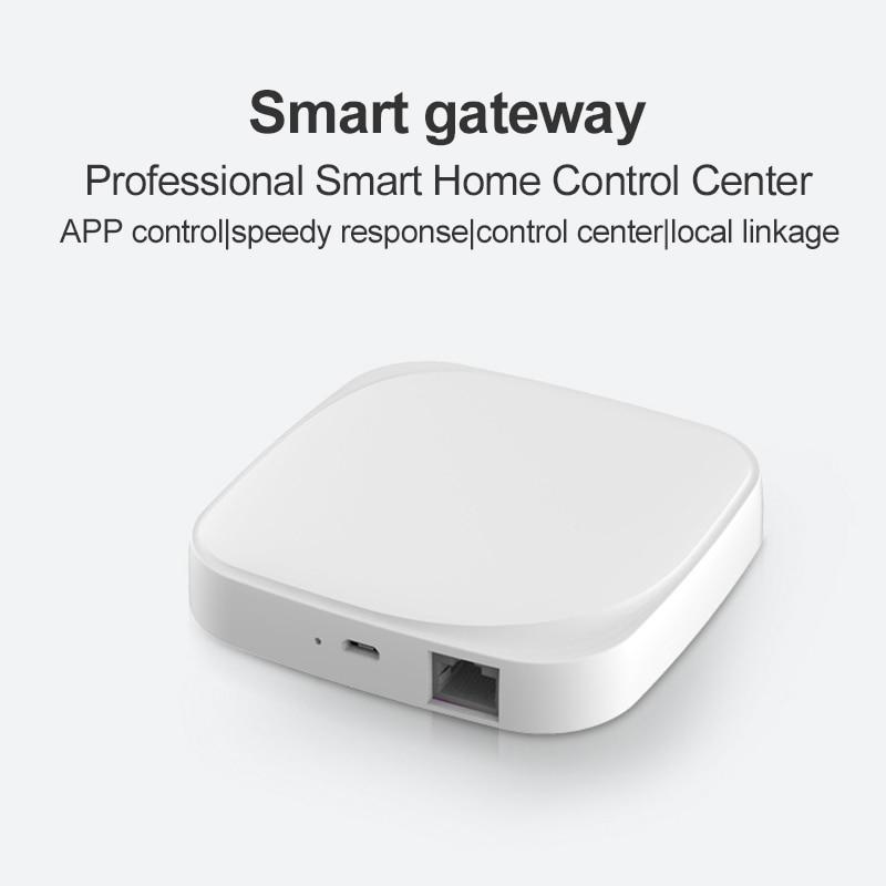 Wholesale Tuya Zigbee Gateway Hub Smart Home APP Remote Control Automation Modules ZigBee3 0 Work With Alexa Google Home