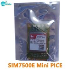 Simcom SIM7500E Mini Pice Multi-Band LTE-FDD/Hspa +/Umts/Edge/Gprs/Gsm CAT-M & Nb-Iot Module B1/B3/B7/B8/B20 900/1800 Mhz