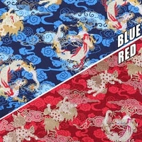 chinese retro style dragon design brocade jacquard satin fabric for cheongsam kimono sewing diy bag handmade patchwork fabric