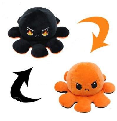 Double-Sided Flip Gato Kids Soft Gift Plushie Plush Animals Double-Sided Flip Doll Cute Toys Plushie