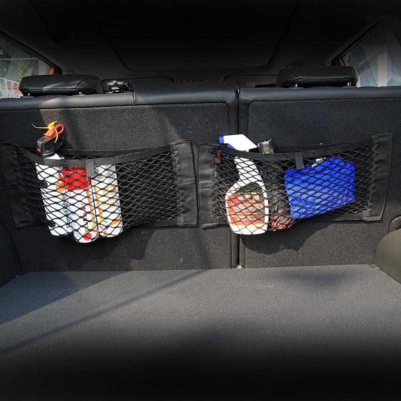 Almacenamiento para maletero de coche neto de la Bolsa de la etiqueta engomada para Honda accesorios Cívica de acuerdo con Crv Hrv de Jazz de la ciudad de CR-Z elemento información MDX S2000