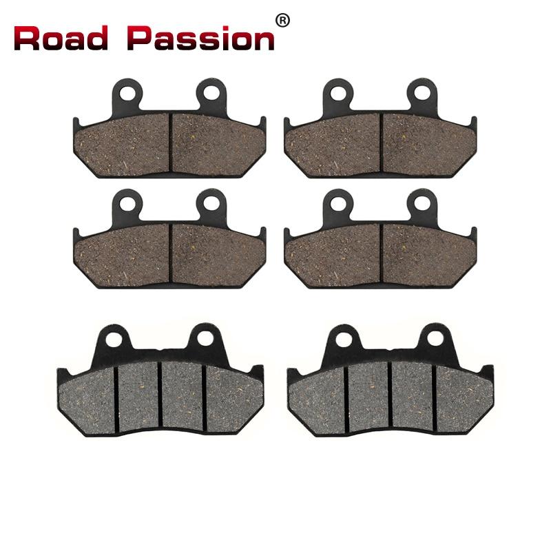Road Passion Motorcycle Front and Rear Brake Pads for HONDA VFR700 VFR750 Interceptor CBR750 CBR1000F Hurricane GL1500 Goldwing