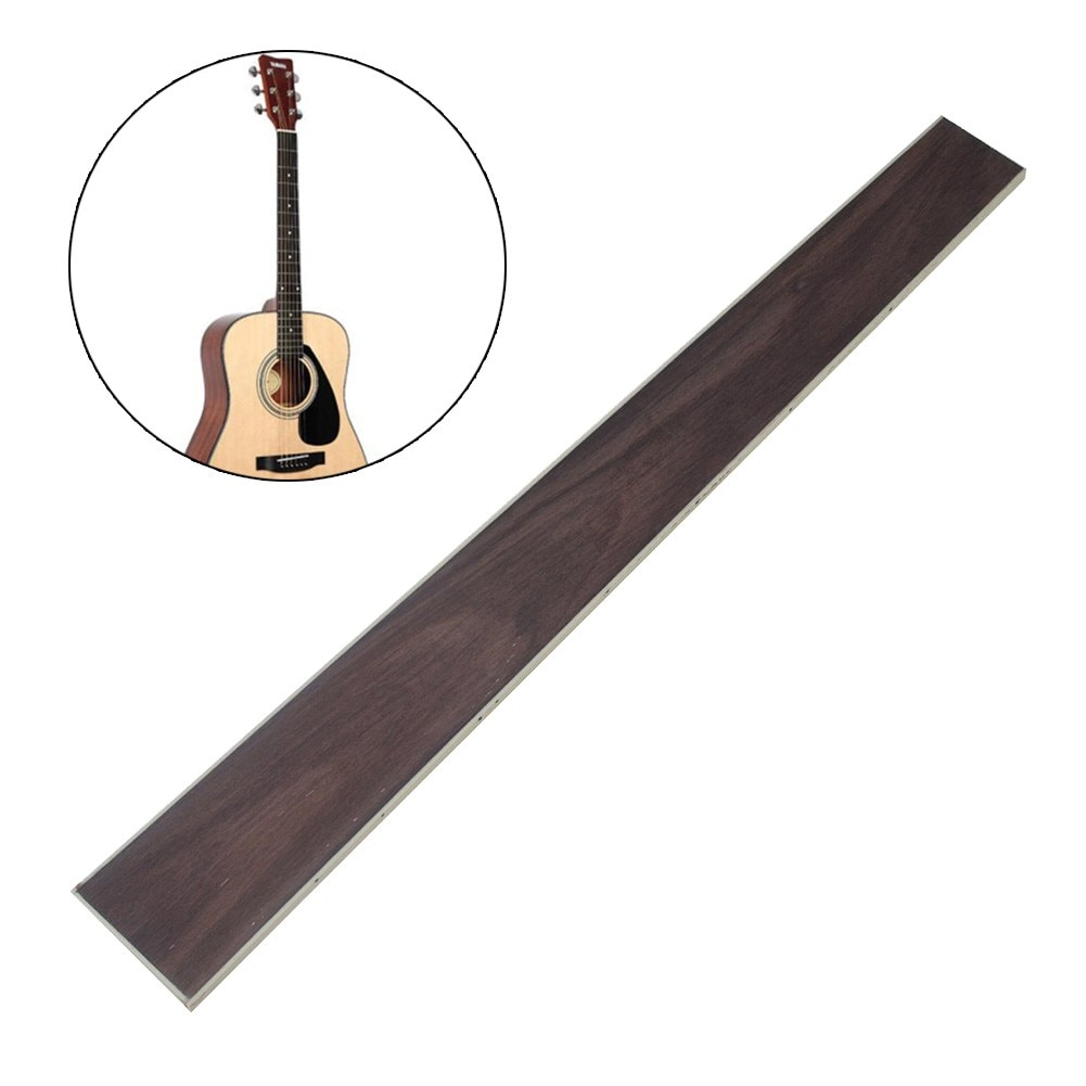 46cm Rosewood Fretboard Guitar Fingerboard For 41in 20 Frets Acoustic Guitar Inlay Shell Sound Piont With ABS Edge Guitar Part 22 frets maple guitar neck rosewood fingerboard neck for fender tele replacement guitar accessories parts right handed players