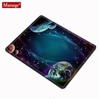 sky planets star gaming mouse pad pc small computer pad non slip rubber mouse pad desk pad star universe 2218cm 2925cm