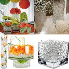 170 sztuk Multicolors kryształ gleby roślin kwiat Jelly Mud koraliki wodne dla roślin perły wazon gleby żel kulki Home Decoration