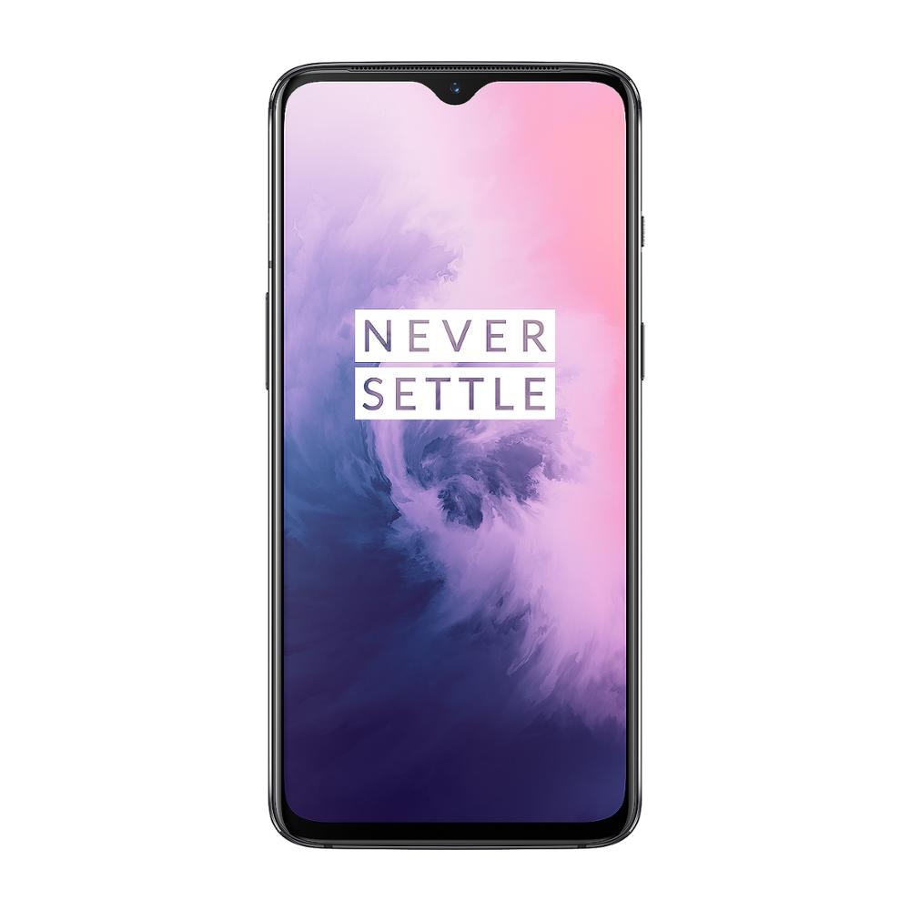 In Stock Global Version OnePlus 7 6GB RAM 128GB ROM Snapdragon 855 UFS 3.0 Dual Camera 48 MP Fingerprint Recognition Smartphone