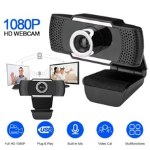 USB 1080P 720p 480p HD Web caméra ordinateur Webcam avec micro rotatif enregistrement vidéo de bureau appelant pour ordinateur
