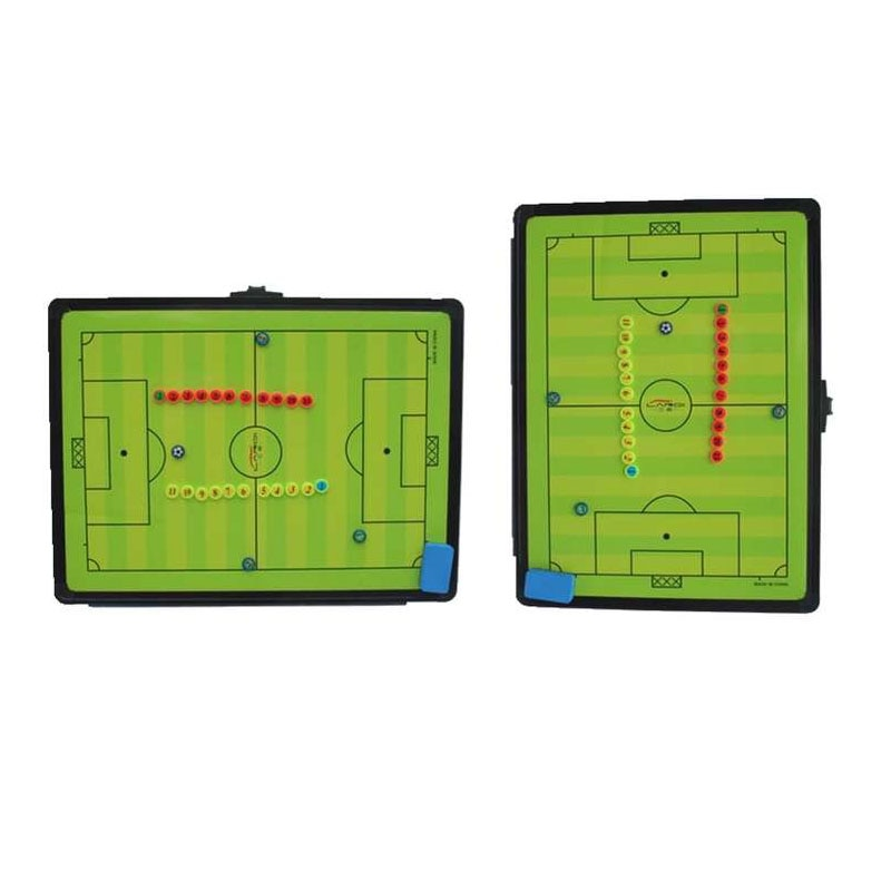 MAICCA Football Tactical Board with Holder Carry Bag Professional Sports Coaching Boards Great Big Soccer Coach Plate 46*61.5 Cm