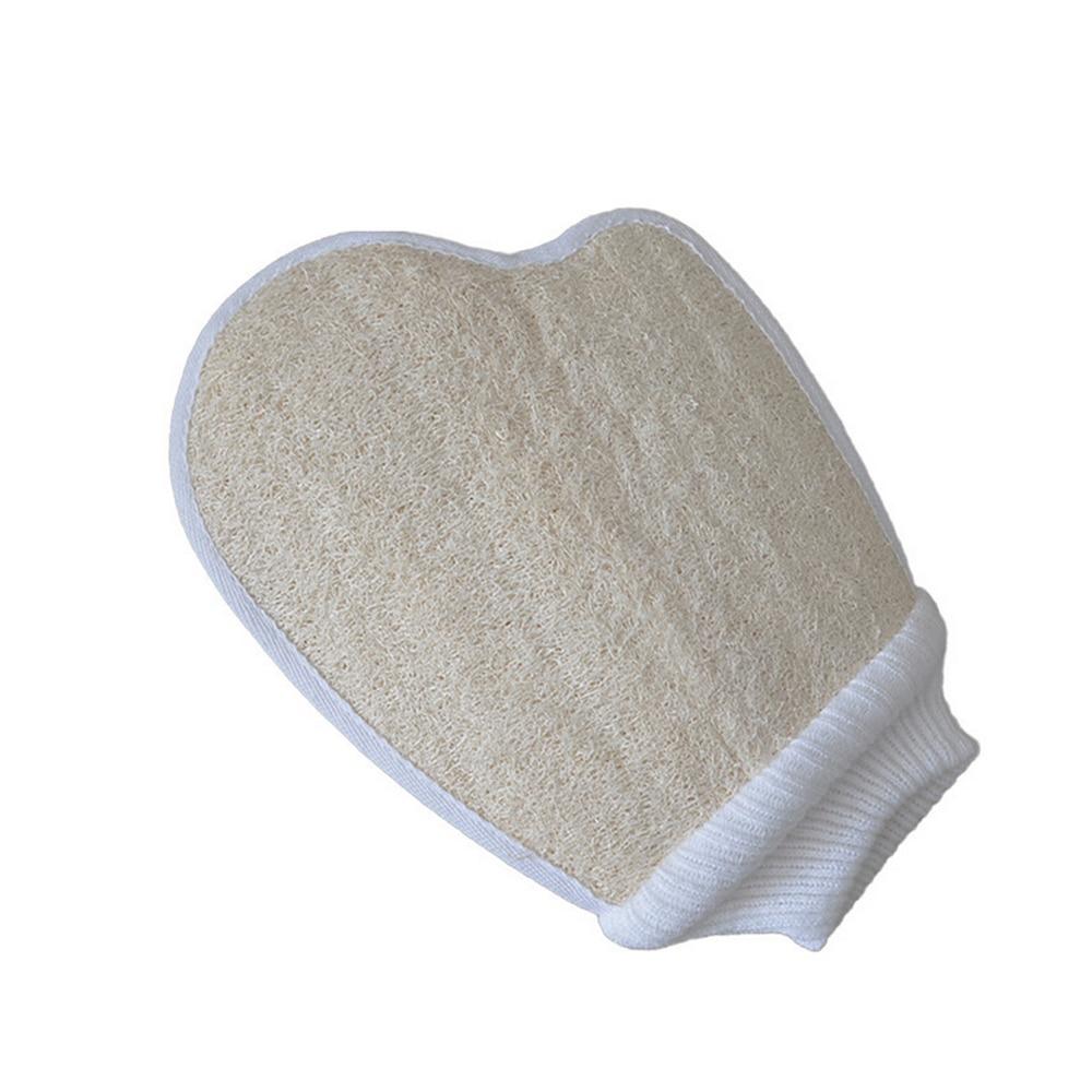 1pc Loofah Exfoliating Body Scrub Skin Massage Sponge Gloves Shower Bath Remove Dead Skin Bathroom Supplies