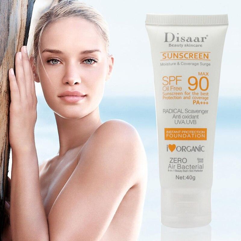Солнцезащитный крем для лица SPF 90, отбеливающий солнцезащитный крем, антивозрастной увлажняющий крем TSLM1 с контролем жирности кожи
