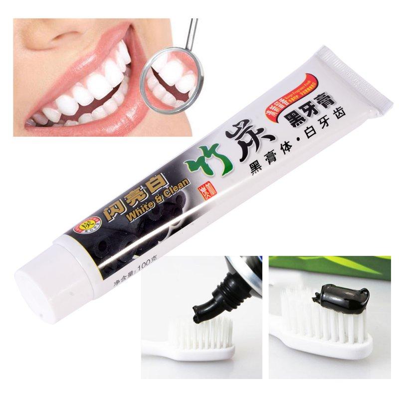 Новое поступление бамбуковый уголь зубная паста отбеливающая зубная паста уголь гигиена полости рта зубной пасты Зубная паста