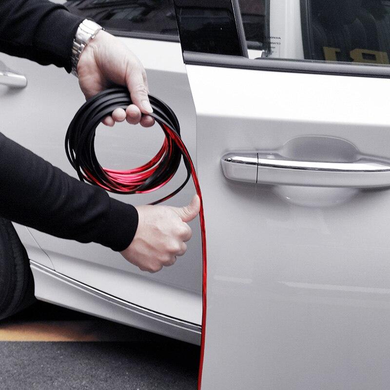 Borda da porta do carro scratch protector tira adesivos de carro para mercedes benz a b c e gla cla glk gl ml gle classe bmw x1 x3 x4 x5