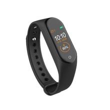 M4 Bracelet à bande intelligente fréquence cardiaque/sang/pression/moniteur de fréquence cardiaque/podomètre bracelet de sport PK M3 Bracelet de remise en forme de santé