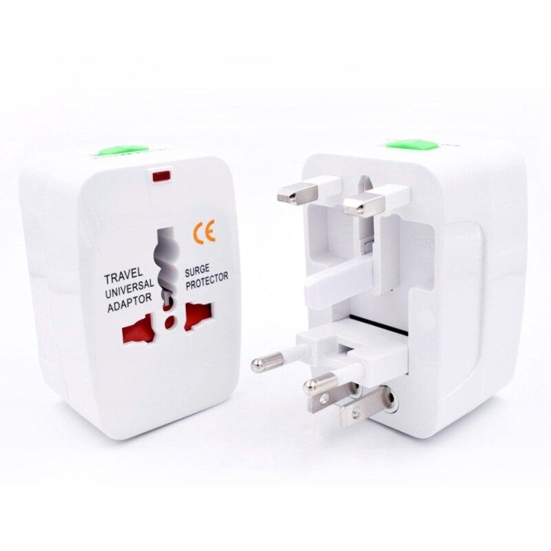 Universal EU Plug Converter EU Adapter AU US UK CN To EU Wall Socket AC 16A 250V Travel Adapter High Quality Socket недорого