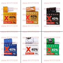 10pcs 40% Tktx Tattoo Cream 6 Colors Safety Before Semi Permanent Makeup Beauty Body Eyebrow Lip Lin