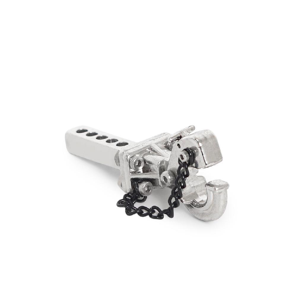 Rctown metal reboque gancho engate para 110 rc rastreador traxxas trx4 trx6 axial scx10 90046 03007 gen 8 86100