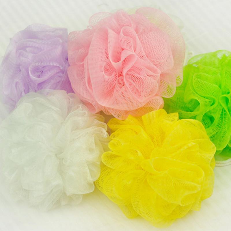 10Pcs/Set Bath Flower Mesh Baths Ball For Bath Washing Body  Tool For Body Wash Large Bath Sponge Pu