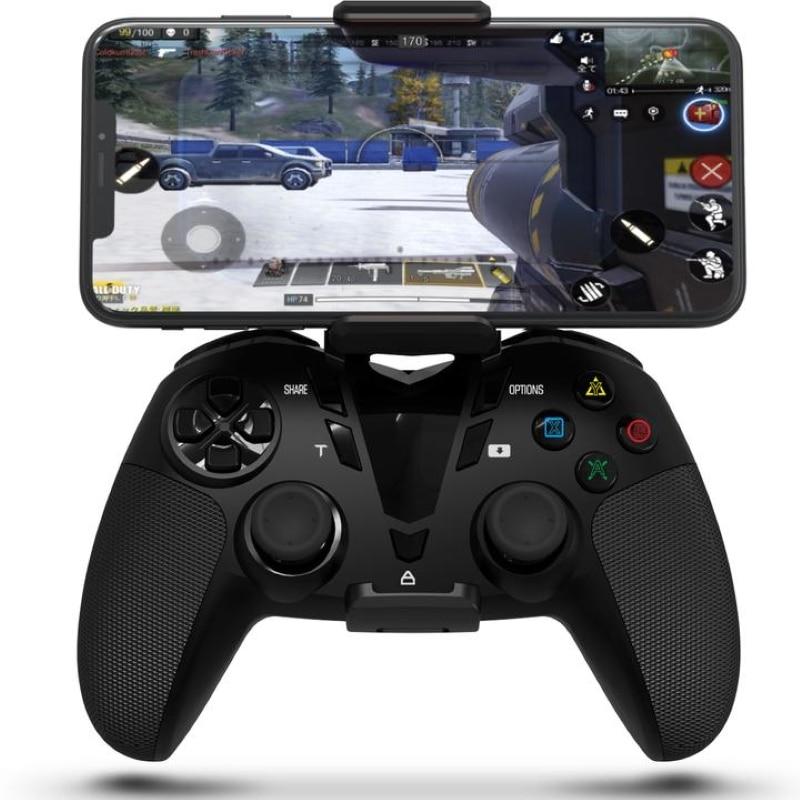 DarkWalker-mando para PS4 con Bluetooth, mando para videojuegos con llamada de servicio/MFI,...