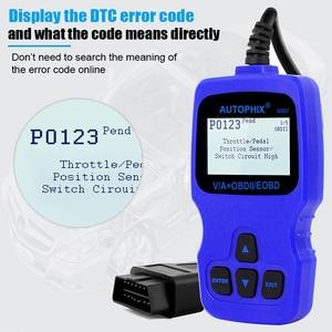 Image 3 - Автомобильный сканер Autophix V007 OBD2, автомобильный диагностический инструмент для Golf 4 // 5/6/7 T5 Polo Passat b5 b6 ABS EPB, инструмент для сброса масла