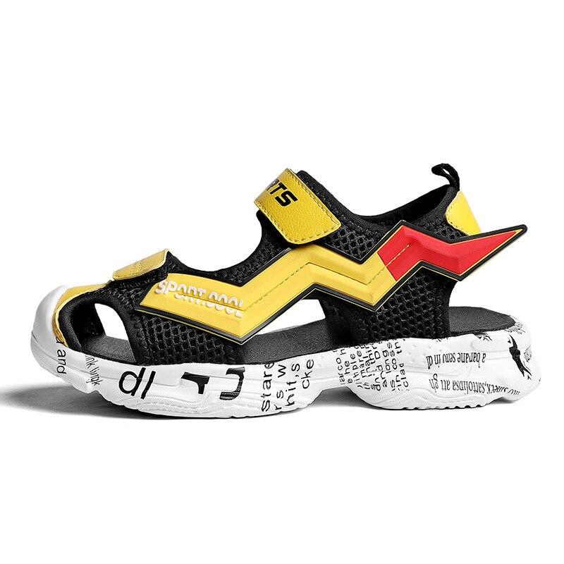 Size 28-39 Kids Boys Sports Comfortable Lightweight Sandals Childrens Closed-Toe Beach Outdoor Kinderschoenen Jongen enlarge