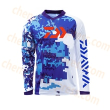 2020 DAWA Daiwa nueva llegada verano ropa de pesca al aire libre transpirable secado rápido Anti UV Anti mosquitos camisetas de pesca de manga larga