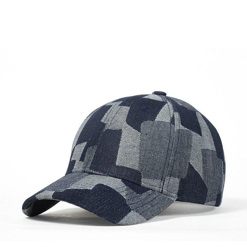Ковбойские шапки в стиле хип-хоп, джинсовая кепка, Кепка с козырьком, бейсбольная кепка