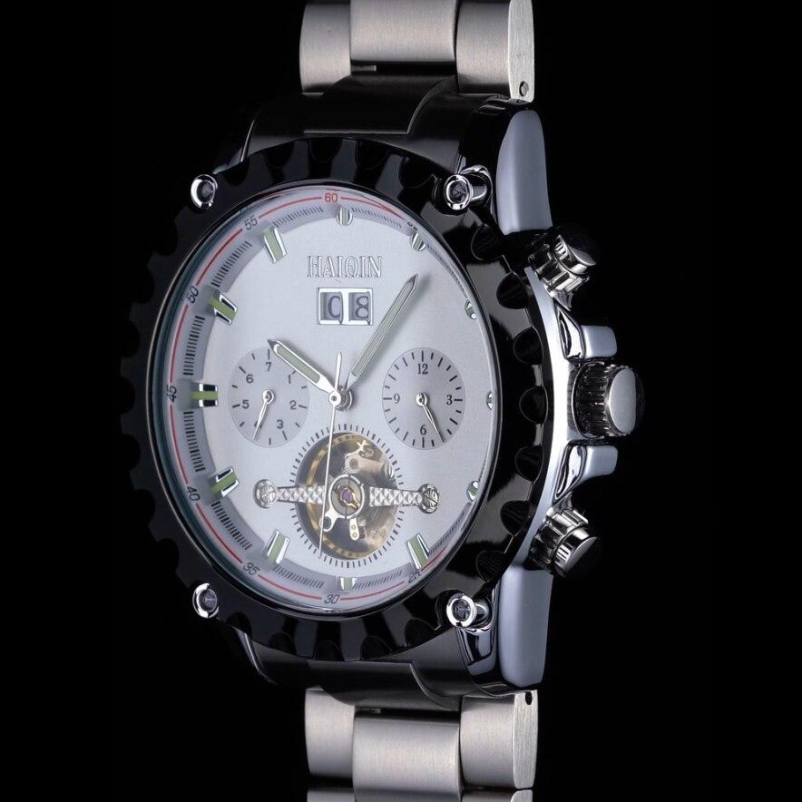 Haiqin 2020 novos relógios masculinos relógio mecânico dos homens relógio automático relógios masculinos topo marca de luxo esporte reloj hombre tourbillon
