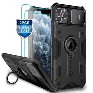 Image 1 - Защитный чехол для камеры iPhone 11 Pro Max Ring stand, чехол NILLKIN Slide для iPhone 11 6,5, 2019, чехол для iPhone 11 Pro